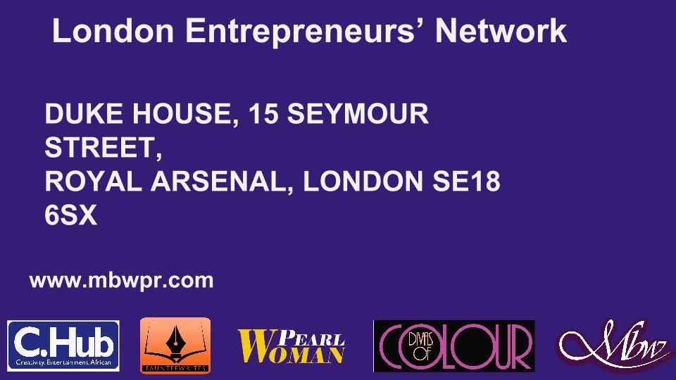 London Entrepreneurs' Network banner