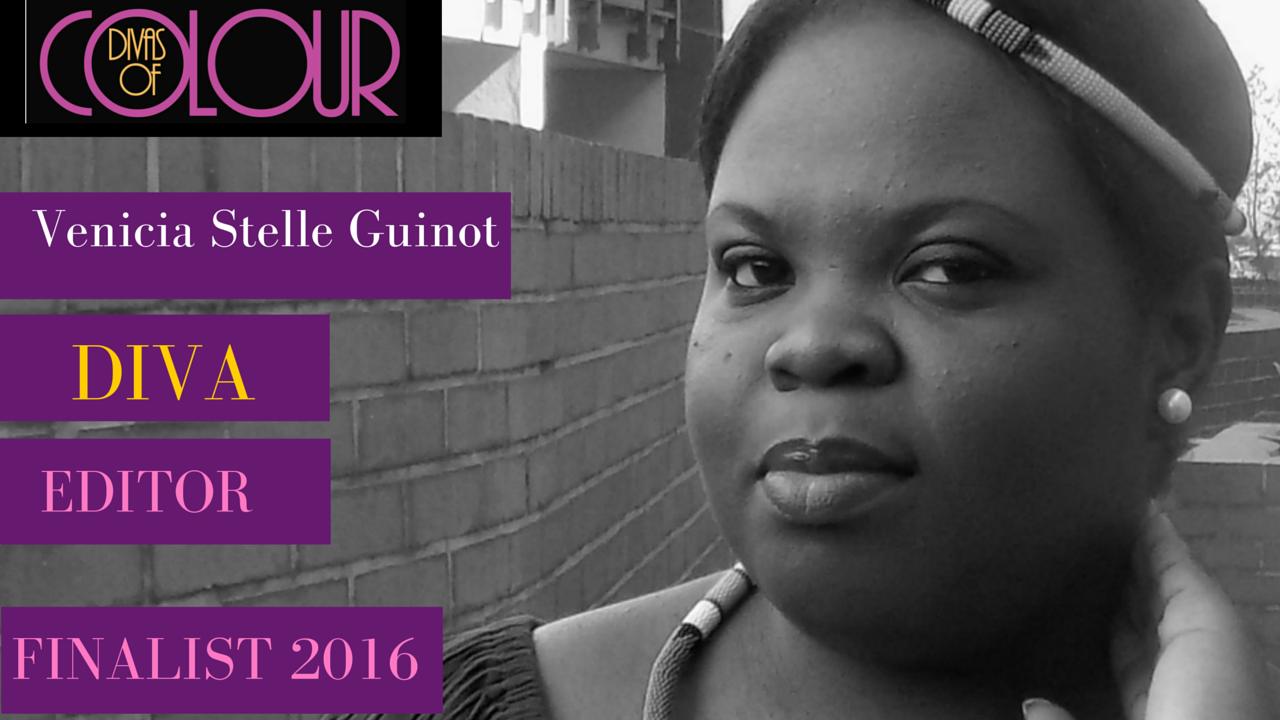 Vénicia Stelle Guinot diva editor finalist Divas of colour 2016