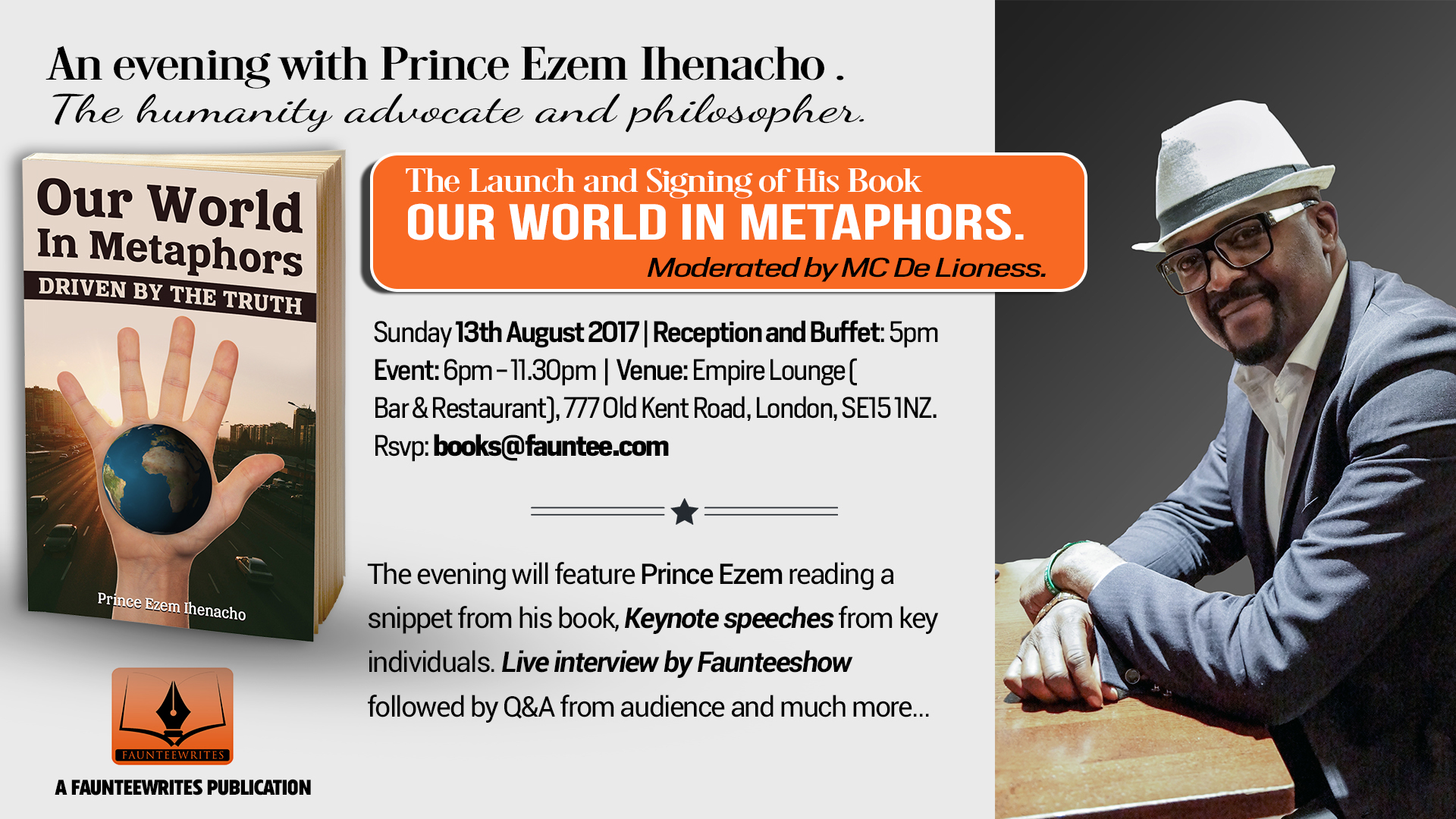 Book launch : Our World in Metaphors.