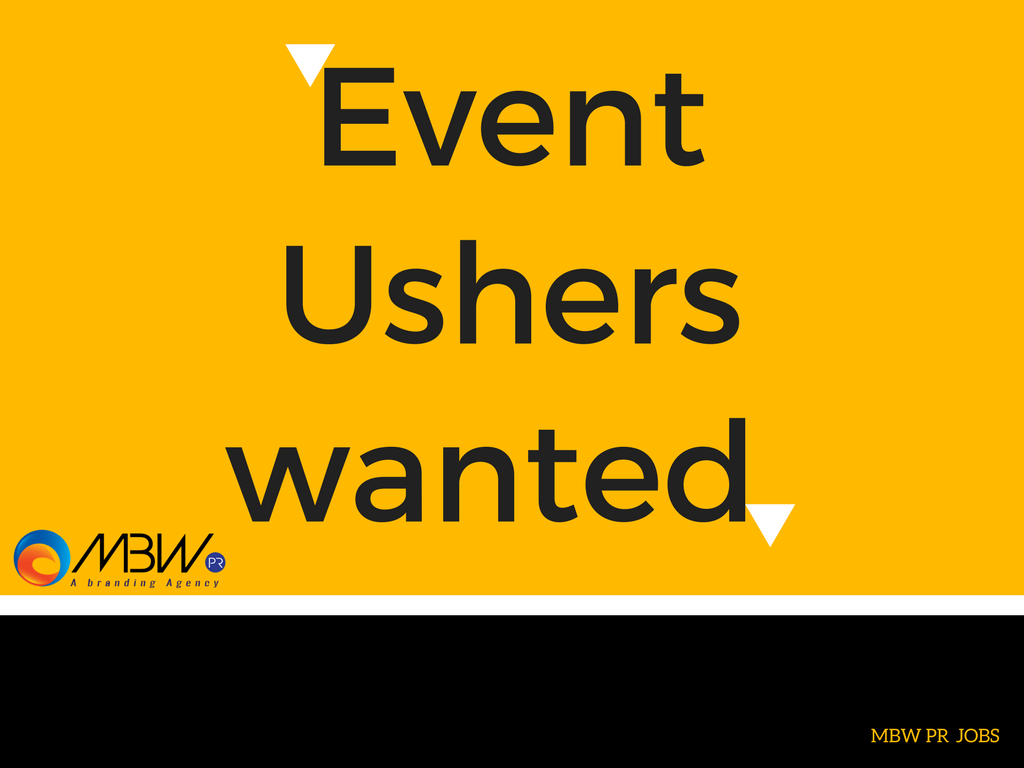 Event usher job