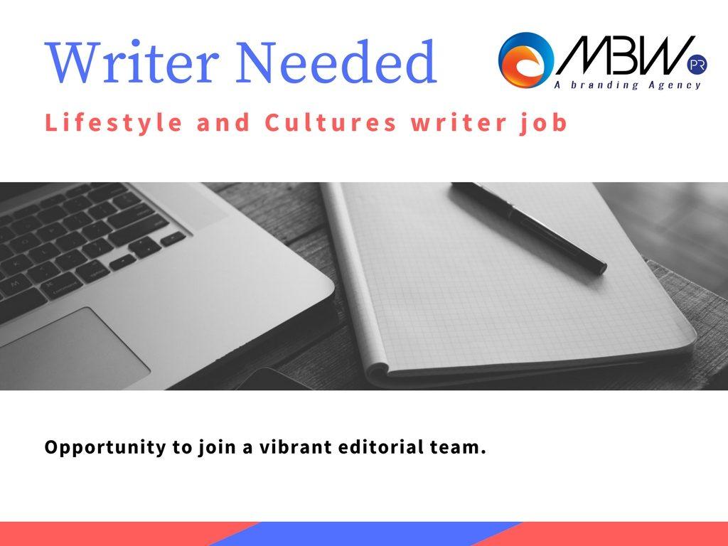 Writer Job MBW PR