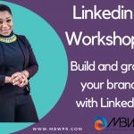 Linkedin workshop with Fauntee
