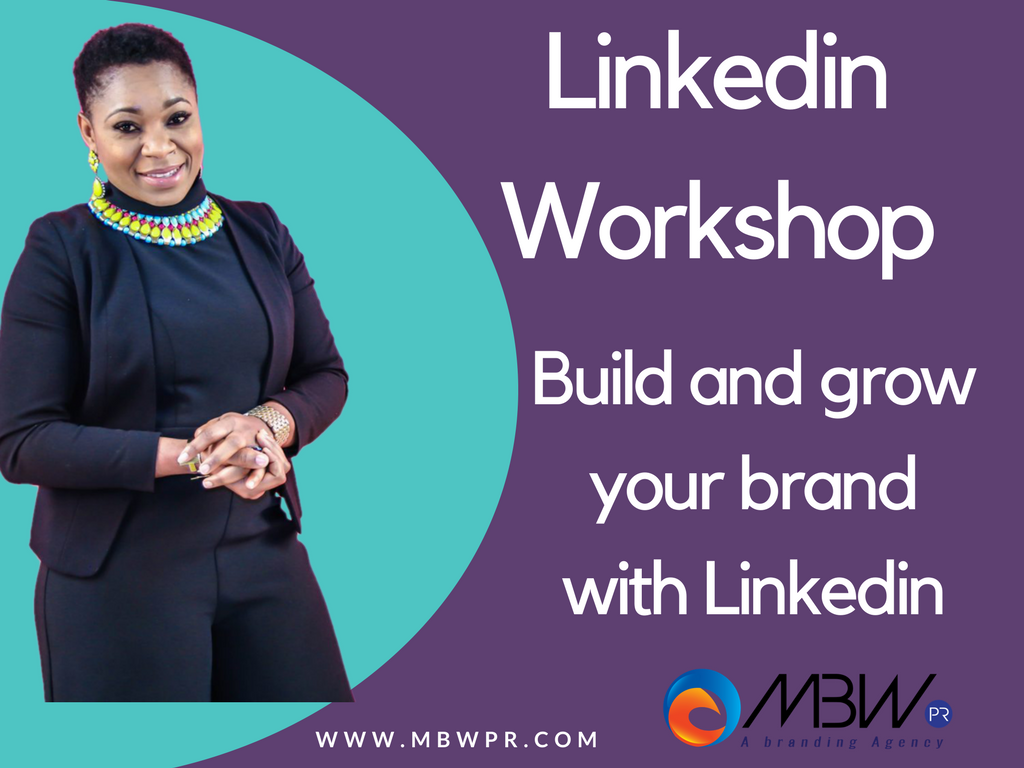 Linkedin workshop with Fauntee